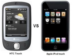 Подаст ли HTC в суд на Apple из-за «Touch»?