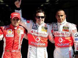 Фернандо Алонсо выиграл квалификацию Гран-при Италии