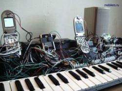 Телефонное пианино – необычный способ использования мобильных