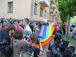 В Москве разогнали гей-парад
