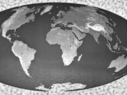Создана самая миниатюрная трехмерная карта мира
