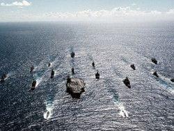 В Аравийское море прибыла вторая авианосная группа США