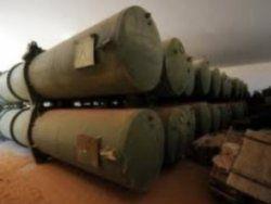 В Ливии нашли тайник Каддафи с химоружием