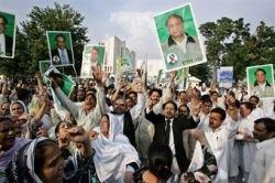 Бывший премьер-министр Пакистана вернулся на родину