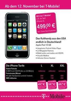 Слухи: 3G iPhone с 16 ГБ памяти уже готов для Германии