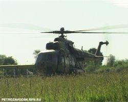 Пропавший под Салехардом вертолет найден