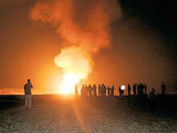 В Турции взорвался газопровод