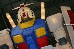 Гигантский робот Gundam, сделанный из бумаги (фото)