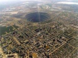 Рукотворные дыры земли (фото)