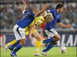 Пирло, Гатузо, Матерацци и Тони не помогут сборной Италии в игре с украинцами