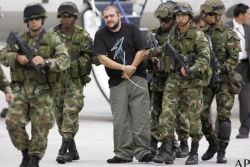 Арест колумбийского наркобарона (фото)