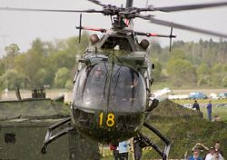 В Швеции столкнулись два боевых вертолета