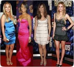Самые нелепые наряды звезд на вручении премии MTV