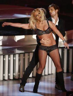 Опозорившаяся Бритни Спирс подняла рейтинг VMA MTV