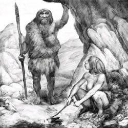 Неандертальцы умели чистить зубы