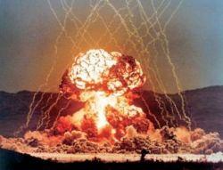 Россия испытала самую мощную в мире вакуумную бомбу (видео)