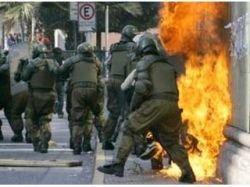 Очередную годовщину переворота 1973 года в Чили отметили уличными боями