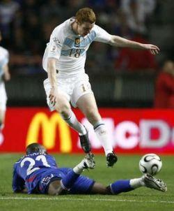 Франция терпит сенсационное поражение