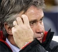 Хиддинк: у сборной России есть шанс на выход в финальную часть чемпионата Европы-2008