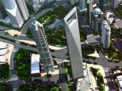 Японский магнат достроил высочайшее здание Китая