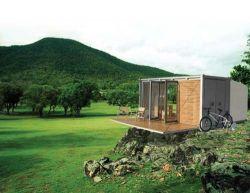 Комфортабельное жилище в грузовом контейнере