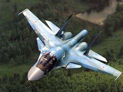 """В Липецке прошли первые полеты \""""летающего танка\"""" Су-34 - новой ударной машины четвёртого поколения"""
