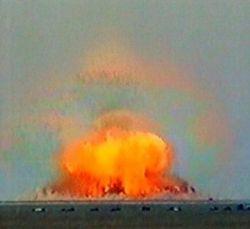 Военные США доказывают превосходство своей бомбы