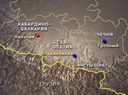 В пригороде Нальчика взорван автомобиль ФСБ