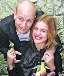 Наталья Водянова родила сына