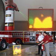 Создан лазерный симулятор огнетушителя