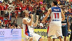 Лучший матч российских баскетболистов
