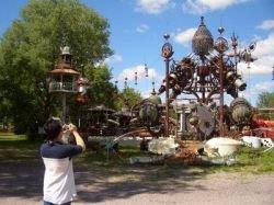 Удивительные скульптуры из металлолома (фото)