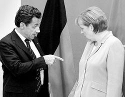 Как Саркози поссорился с Меркель