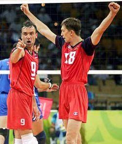 Успехи сборной России на чемпионате Европы по волейболу