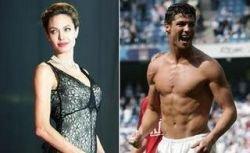 Криштиано Роналдо влюблен в Анджелину Джоли!