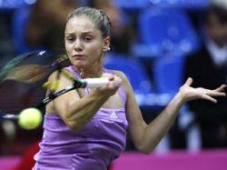 Анна Чекветадзе выиграла первую встречу в финале Кубка Федерации