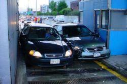Самые необычные и нелепые аварии (фото)