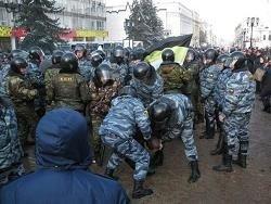 В Нижнем Новгороде протестующие захватили здание суда