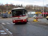 В Праге взорвался автобус