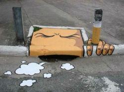 Креативный подход к уличному искусству (фото)