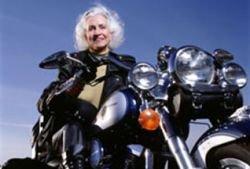 Американка стала байкершей в 100 лет