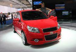 Chevrolet представила во Франкфурте новый Aveo