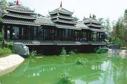 В Китае построен крупнейший ботанический сад над водой
