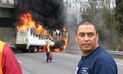 Албанец сжег свой автомобиль из-за проигрыша любимой команды