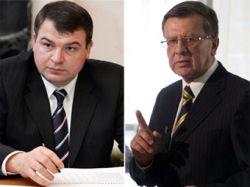 Министр обороны Сердюков подал в отставку из-за родства с Зубковым