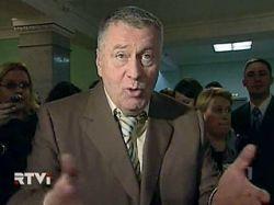 """Жириновский выгнал с пресс-конференции шефа \""""Голоса Америки\"""" и предрек конец Британии"""