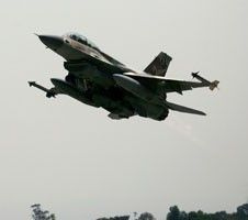 В Италии разбился истребитель ВВС США