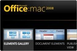 Microsoft рассказала о некоторых новых функциях Mac Office 2008