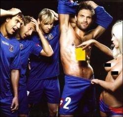 """Игроки футбольного клуба \""""Арсенал\"""" позируют для журнала Playboy (фото)"""