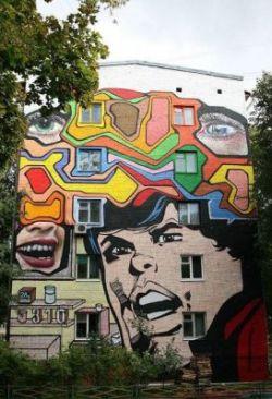 Самые лучшие художники разрисуют дома в Москве (фото)